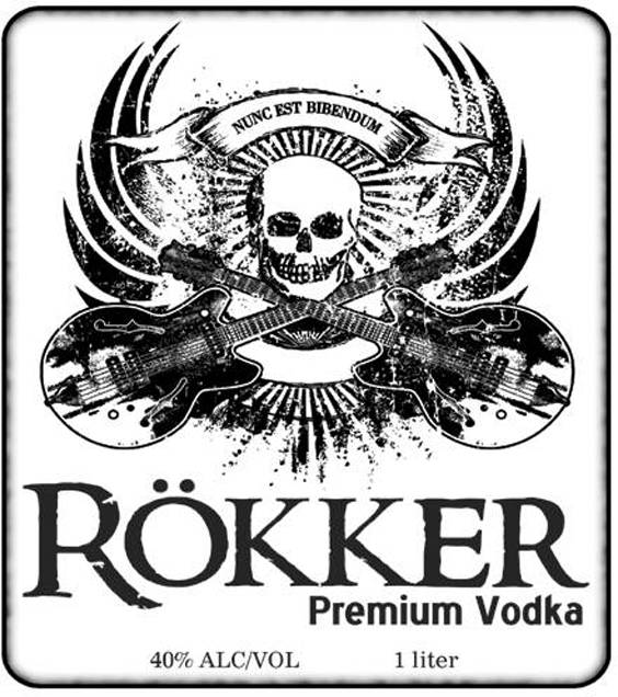 Rökker Vodka: The Black Death of the Midwest!